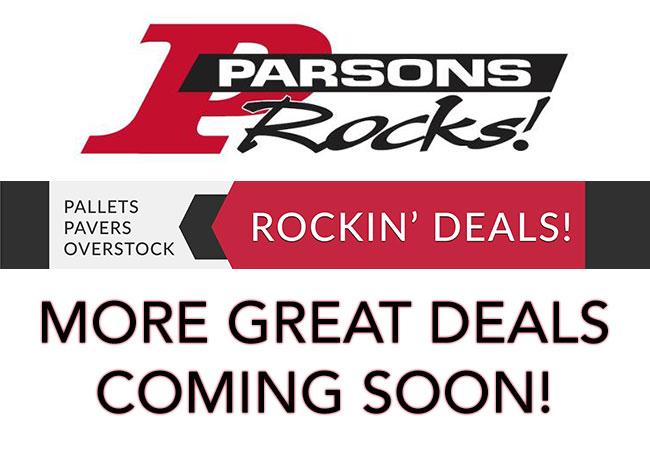 Parsons Rocks! I Overstock Pavers I Las Vegas I Landscaping