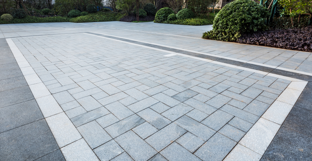 basket weave pavement designs