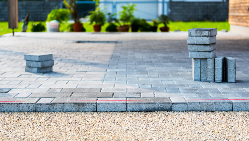 laying concrete pavers for your home