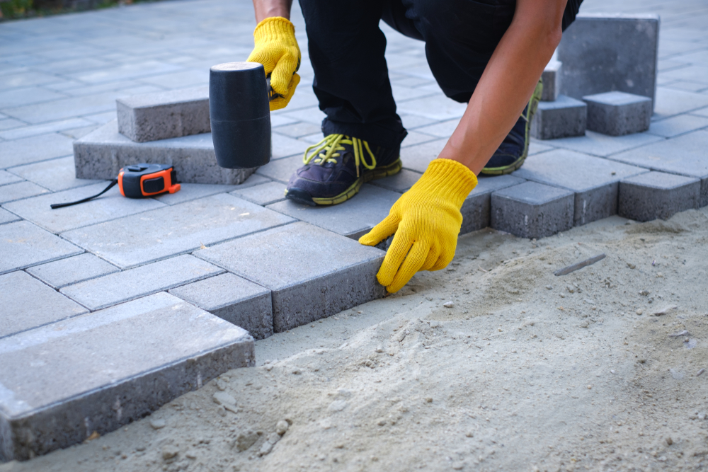 paving your driveway with stones